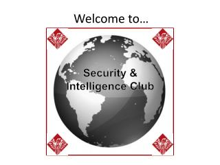 Security & Intelligence Club