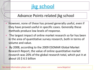 The Best Management sites of jkg school