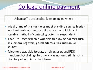 The Ideal Length for All college Online payment