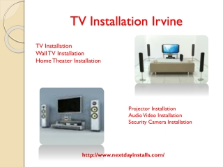 TV Installation Irvine