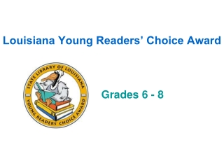 Louisiana Young Readers' Choice Award