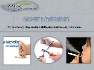 "Say ""Goodbye"" To Smoking By Hypnotherapy Stop Smoking Melbou"