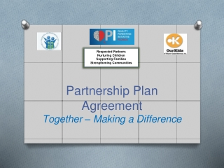 Partnership Plan Agreement Together – Making a Difference