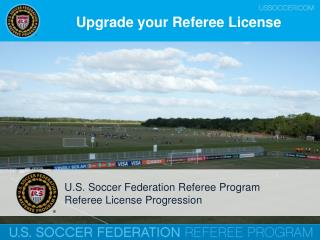 Upgrade your Referee  L icense