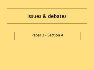psychology revision