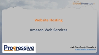Website on AWS