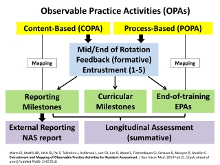 Observable Practice Activities (OPAs)
