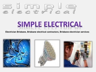 Avail Services From Best Electrician Brisbane