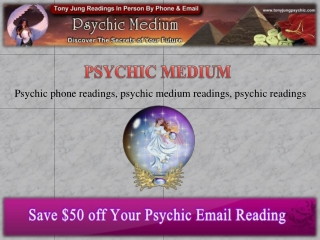 Psychic Phone Reading: Solution Is In Your Doorstep