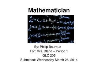 Mathematician