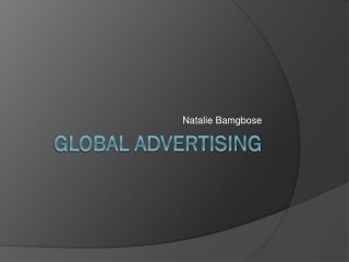 Global Advertising