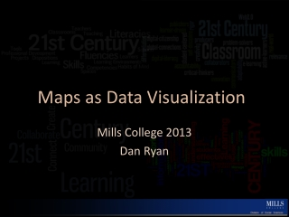 Maps as Data Visualization