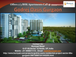 Affordable Houses in Godrej Oasis Gurgaon