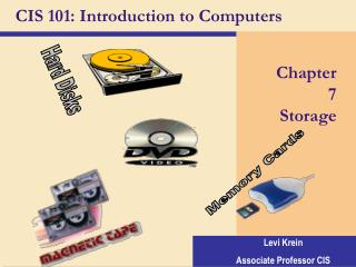 CIS 101: Introduction to Computers