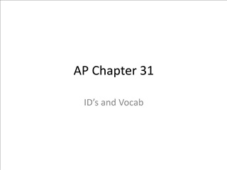 ap chapter 31