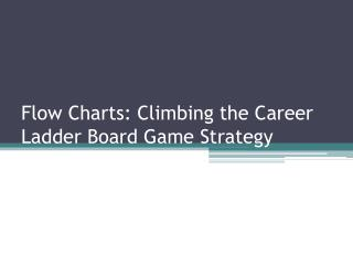 Flow Charts: Climbing the Career Ladder Board Game Strategy