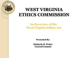 WEST  VIRGINIA ETHICS COMMISSION
