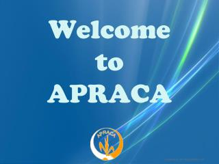 Welcome  to APRACA