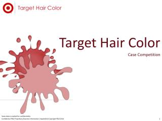 Target Hair Color