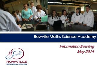 Rowville Maths Science Academy
