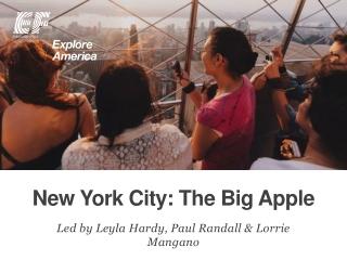 New York City: The Big Apple