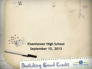 Eisenhower High School September 15, 2013