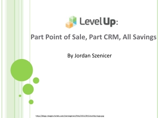 Part Point of Sale, Part CRM, All Savings