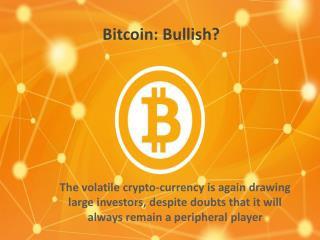 Bitcoin: Bullish?