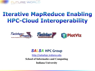 Iterative  MapReduce E nabling  HPC-Cloud Interoperability