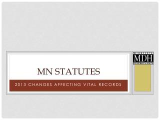 MN Statutes