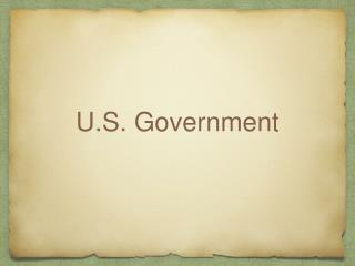 U.S. Government
