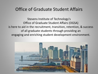 Office of Graduate Student Affairs