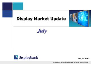 Display Market Update