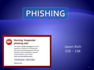 Jason Rich CIS - 158