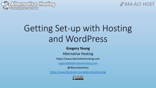 Getting Set-up with Hosting and WordPress