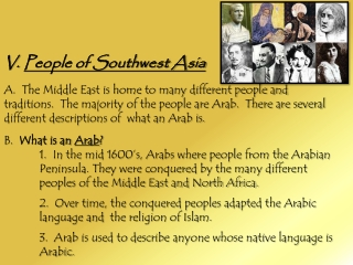 People of Southwest Asia