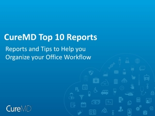 CureMD Top 10 Reports