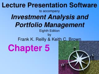 Lecture Presentation Software to accompany