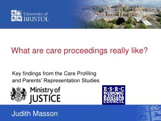 What are care proceedings really like?