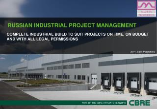 RUSSIAN INDUSTRIAL PROJECT MANAGEMENT