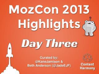 MozCon 2013 Highlights
