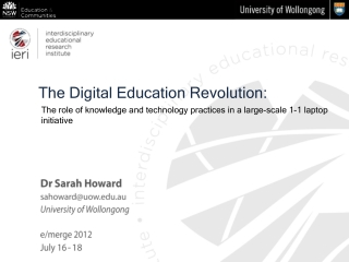 The Digital Education Revolution: