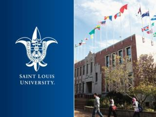 About Saint Louis University
