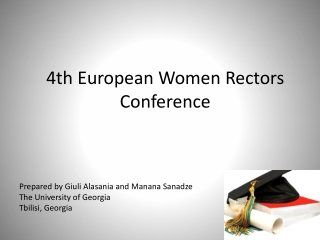 4th European Women Rectors Conference