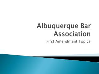 Albuquerque Bar Association