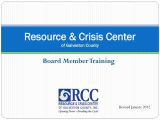 Resource & Crisis Center of Galveston County
