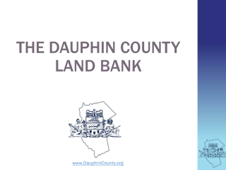 The Dauphin County  Land Bank
