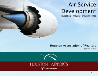Air  Service Development Navigating Through Turbulent Times
