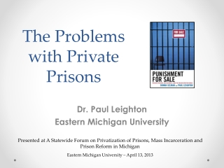 The Problems with Private Prisons
