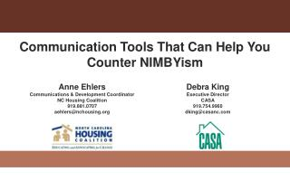 Communication Tools That Can Help You Counter  NIMBYism